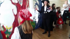 Queens Museum Spooktacular (Joe Shlabotnik) Tags: cameraphone video lily band flushingmeadows juggling everett takingphotos sarahp 2016 bliksem queensmuseum spooktacular galaxys5 january2016
