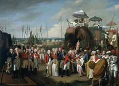 Robert Home General Lord Cornwallis receiving Tipu Sultans sons as hostages England (c. 1793) National Army Museum, London (medievalpoc) Tags: england india art history robert home war general military sultan 1700s colonialism cornwallis tipu medievalpoc