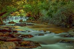 RIAÑO (faustoreinosa) Tags: rio agua arboles cantabria riaño efectoseda revelada reveladasinfirmar