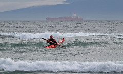 On the Edge (KaseyEriksen) Tags: ocean sports kayak paddle victoria kayaking ontheedge