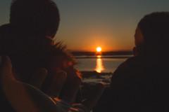 (matteosaragoni) Tags: winter sunset sea people italy sun cold nikon shadows hand darkness lagoon emiliaromagna northitaly marinaromea nikon3200
