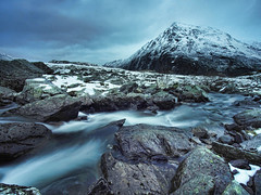 Snowdonia lives up to its name (infourthirds) Tags: snow mountains wales river angle wide snowdonia kowa