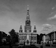 Church in Poland (Ciddi Biri) Tags: bw church architecture faith religion kitlens believe blackwhitephotography kilise inanc epl3 1442rii siyahbeyazfotograf m43turkiyecom