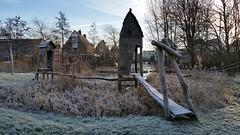 20160118 Natuurlijke speelplek (GemeenteUithoorn) Tags: winter cold holland ice frozen frost bevroren nederland amstel landschap noordholland ijs koud landschappen waterlijn uithoorn zonsopkomst hollandse vriezen dekwakel dorpscentrum molenvaart