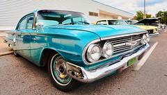 1960 Chevrolet Bel Air (hz536n/George Thomas) Tags: summer chevrolet belair michigan august chevy canon5d flint 2014 ef1740mmf4lusm cs5 backtothebricks