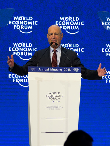 Dr. Klaus Schwab Founder of the WEF, From FlickrPhotos