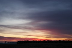 DSC01228 (alexrupp426) Tags: sky orange cloud sun rural america sunrise dawn flickr outdoor