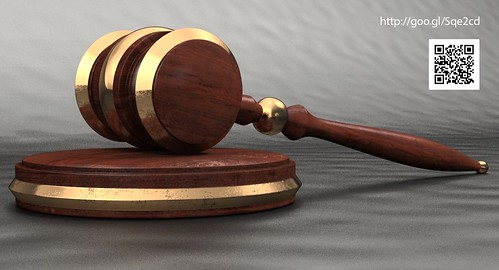 3D Rendering of Auction Gavel