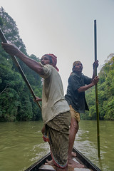 Boatmanz (Sandip Deb Photography) Tags: water forest boat boatman tripura amarpur chabimura