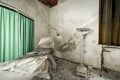 Abandoned healing institute, somewhere in Italy. (ste_peg) Tags: italy abandoned architecture design bed decay exploring institute medical urbanexploration healing decadence urbex stepeg