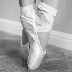 Pointe Shoes (jlbarsotti) Tags: ballet dance ballerina dancer pointe pointeshoes balletshoes danceshoes balletdancer youngballerina