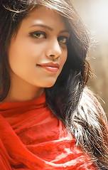 Sabiha (ainulislam) Tags: portrait woman color girl outdoor sunray