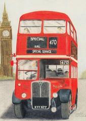 RT3148 Brithday card. (Ledlon89) Tags: bus london buses transport londonbus tfl londonbuses centrallondon
