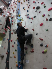 where next? (Mr Kiki) Tags: birthday white london wall spider indoor climbing bouldering