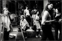 ((Jt)) Tags: blackandwhite film asian asia streetphotography korea myeongdong koreangirls jtinseoul photogsinkorea