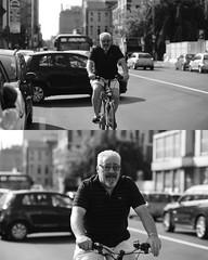 [La Mia Citt][Pedala] (Urca) Tags: portrait blackandwhite bw bike bicycle italia milano bn ciclista biancoenero mir bicicletta 2015 pedalare 7964 dittico nikondigitale ritrattostradale