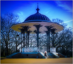 Southwark Park Bandstand (London Less Travelled) Tags: park blue london south bandstand rotherhithe southwark