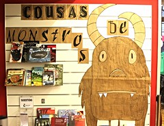 Instalacións da Biblioteca Infantil e Xuvenil de Durán Loriga (Bibliotecas Municipais da Coruña) Tags: monstruos instalaciones monstros mobiliario infraestructuras instalacions binfantil marzo2015