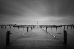 Silent and Calm (Sascha Gebhardt Photography) Tags: sea bw photoshop see nikon wasser sw nikkor fx hafen ostsee fehmarn haida d800 lightroom langzeitbelichtung fototour 1424mm