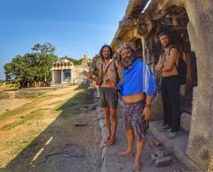 Shri Yantrodharaka Hanuman Temple (ismailboztuna) Tags: india temple fisheye karnataka baba hdr hindi hampi hi5 gopro hanumanahalli manoharnath