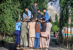 Local Transportation, Askole To Skardu, Gilgit-Baltistan, Pakistan (Feng Wei Photography) Tags: road travel pakistan people horizontal outdoors asia transportation kashmir pk crowded colorimage indiansubcontinent shigar shigarvalley gilgitbaltistan centralkarakoramnationalpark