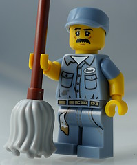 Janitor (aktuaroslo) Tags: macro lego minifig 71011 leica45mm collectableminifigures lumixgh4