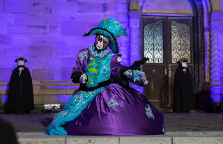 Miss Purple - Carnival of Venice 2016