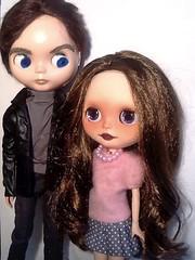 Blythe-a-Day February #22 Polka Dots: Claudia & Oscar Nominee Tom Hardy