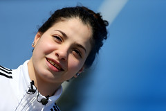 Refugee Swimmer Yusra Mardini - Photocall (International Olympic Committee) Tags: berlin germany deu