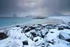 Plage de Storsandnes [ Îles Lofoten ~ Norvège ] (emvri85) Tags: winter snow mountains beach norway zeiss rocks hiver neige lofoten plage rochers montagnes 21mm norvège nordland leefilters visipix storsandnes storsandnesbeach