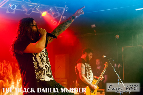 The Black Dahlia Murder @ Biebob 06022016