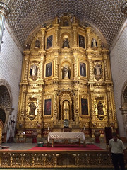 "Oaxaca: l'église Santo Domingo <a style=""margin-left:10px; font-size:0.8em;"" href=""http://www.flickr.com/photos/127723101@N04/25410321990/"" target=""_blank"">@flickr</a>"