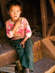 Child of the Palaung Tribe, Shan State, Myanmar (deemixx) Tags: child hilltribe shanstate palaungtribe