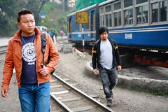 IMG_1688 (dr.subhadeep mondal's photography) Tags: travel people urban india color canon hill streetphotography railway darjeeling himalayan westbengal 1755