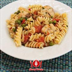 Macarro ao Molho de Cao e Ervilhas (Almanaque Culinrio) Tags: food recipe comida gastronomia culinria receita