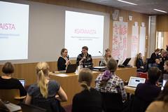 Women's Day Editathon in Kaisa House (Wikimedia Finland) Tags: wikipedia naistenpiv kaisakirjasto