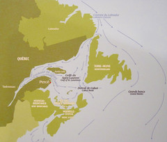 Muse le Chafaud (Mariko Ishikawa) Tags: canada history museum quebec map perce quebecmaritime