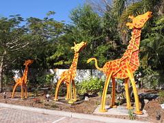 DSCN8470 (Dale_Wiley) Tags: art metal statues giraffe horseshoes