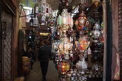 Marrakech Souks (steve_whitmarsh) Tags: africa street shop morocco marrakech souk