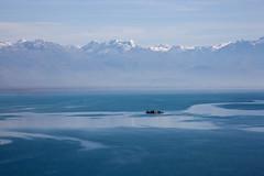 Grmozur (Besim_Hakramaj) Tags: blue lake snow mountains color nature water landscape montenegro skadar prokletije grmozur