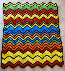 Vicky Tidwell (The Crochet Crowd) Tags: game stitch right blanket afghan throw crochetblanket thecrochetcrowd stitchisright