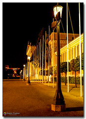 20080318_1936 (gabrielpsarras) Tags: building monument lamp architecture night outdoors downtown athens pole greece lamppost historical column zappeion