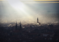 Vrsac (Marko Viacki) Tags: serbia crkva vojvodina srbija sunce vrac vrsac