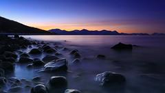 Rocks at Nupen (Explored) (Frank S. Andreassen) Tags: ocean winter sea sky nature norway frank evening coast vinter bravo rocks colorful long exposure natur nordnorge kyst andreassen nettfoto