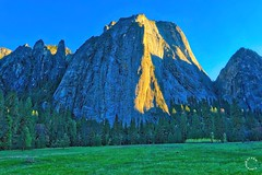 El Capitan. Yosemite California (Travel to Eat) Tags: california sunset nationalpark scenery yosemite elcapitan