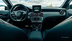 Mercedes-AMG A 45 4Matic interior (Milo Fabian) Tags: car automobile automotive mercedesbenz amg carphotography aclass automotivephotography mbfanphoto