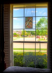 Openings - A Guest's View Of The Neighborhood (zendt66) Tags: window photo nikon stainedglass theme weekly challenge hdr streetview openings photomatix zendt d7200 zendt66 52in2016
