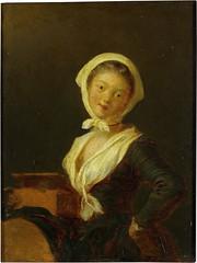An Organ Grinder (a Woman of Savoy) (lluisribesmateu1969) Tags: portrait moscow 18thcentury fragonard thepushkinstatemuseumoffinearts