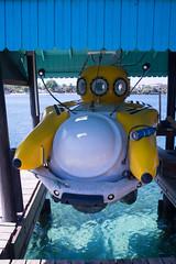 Submarine Idabel at dock (ianc7777) Tags: leica sony submarine stanley karl roatan exploration institue deepsea idabel trielmar a7rii