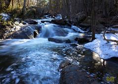 Blakeney in Spring (robidave) Tags: snow ice spring rapids waterfalls runoff